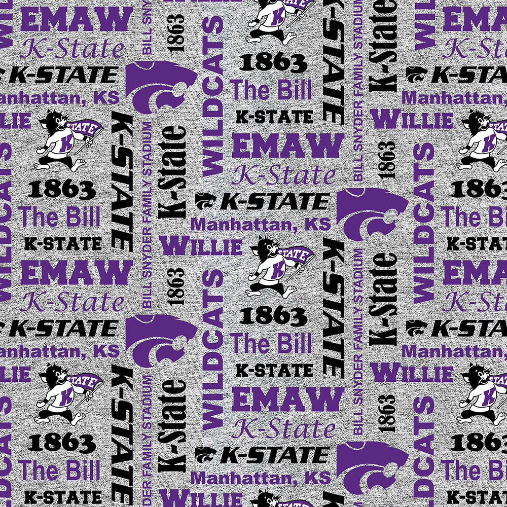 KANSAS STATE UNIVERSITY-1162 Fleece