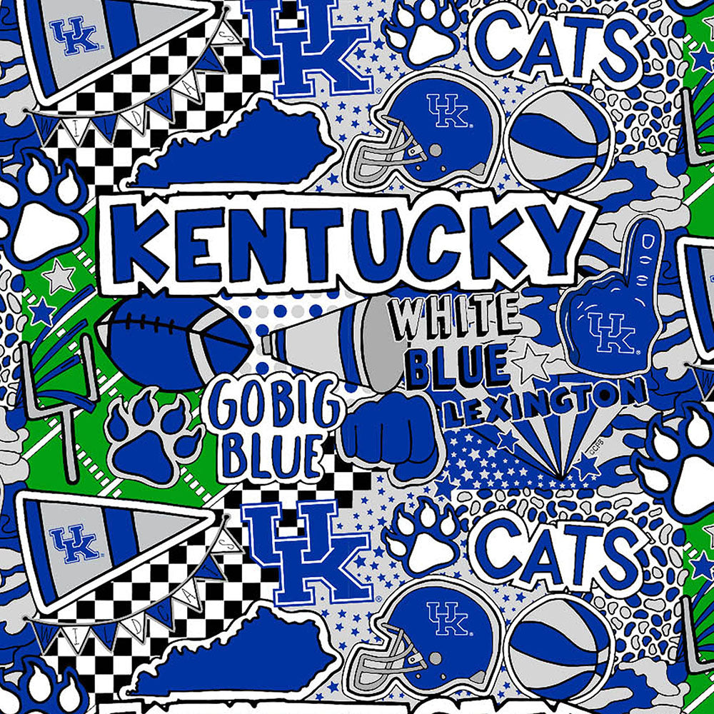 UNIV. OF KENTUCKY-1165 Cotton / ARTWORK BY COREY PAIGE