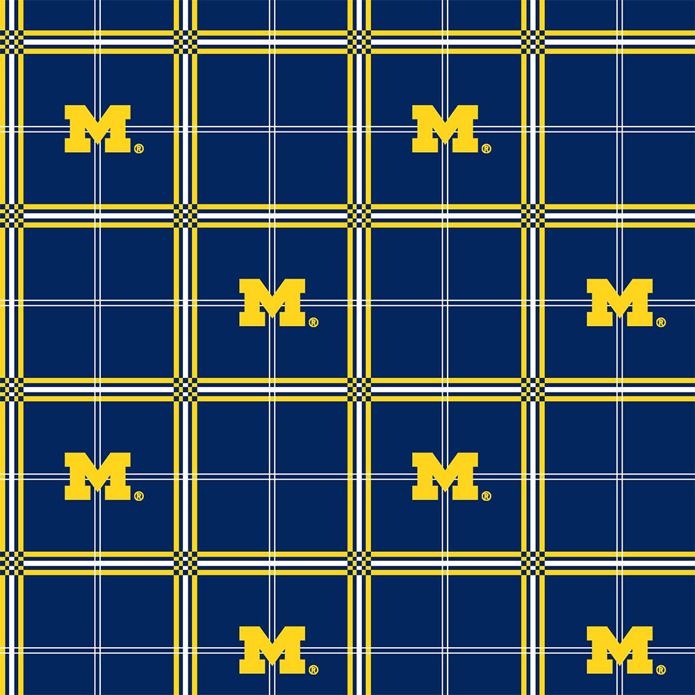 UNIV. OF MICHIGAN-023 Flannel