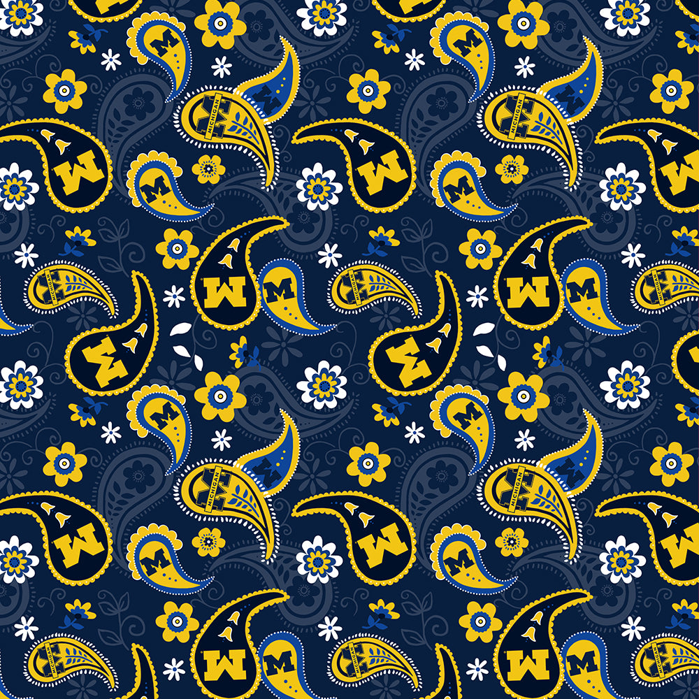 UNIV. OF MICHIGAN-1200 Cotton