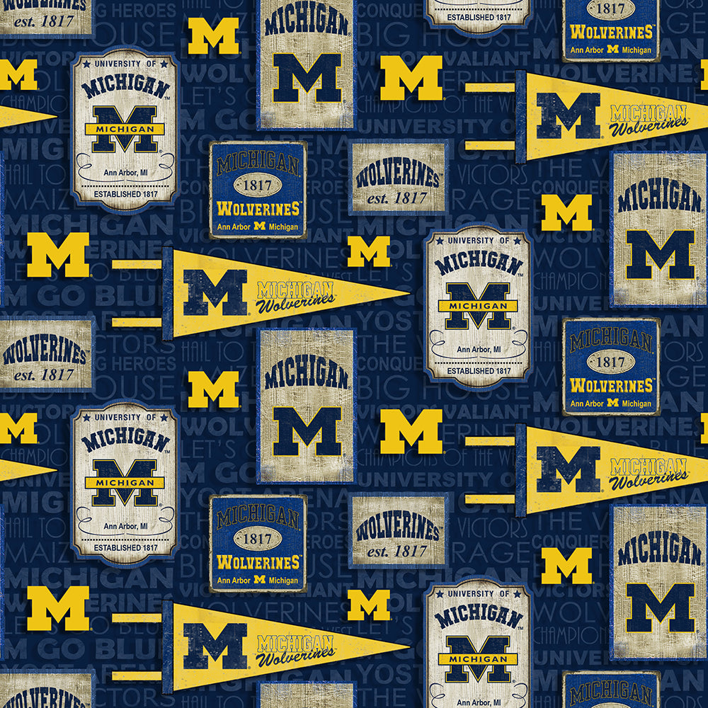 UNIV. OF MICHIGAN-1267 Cotton