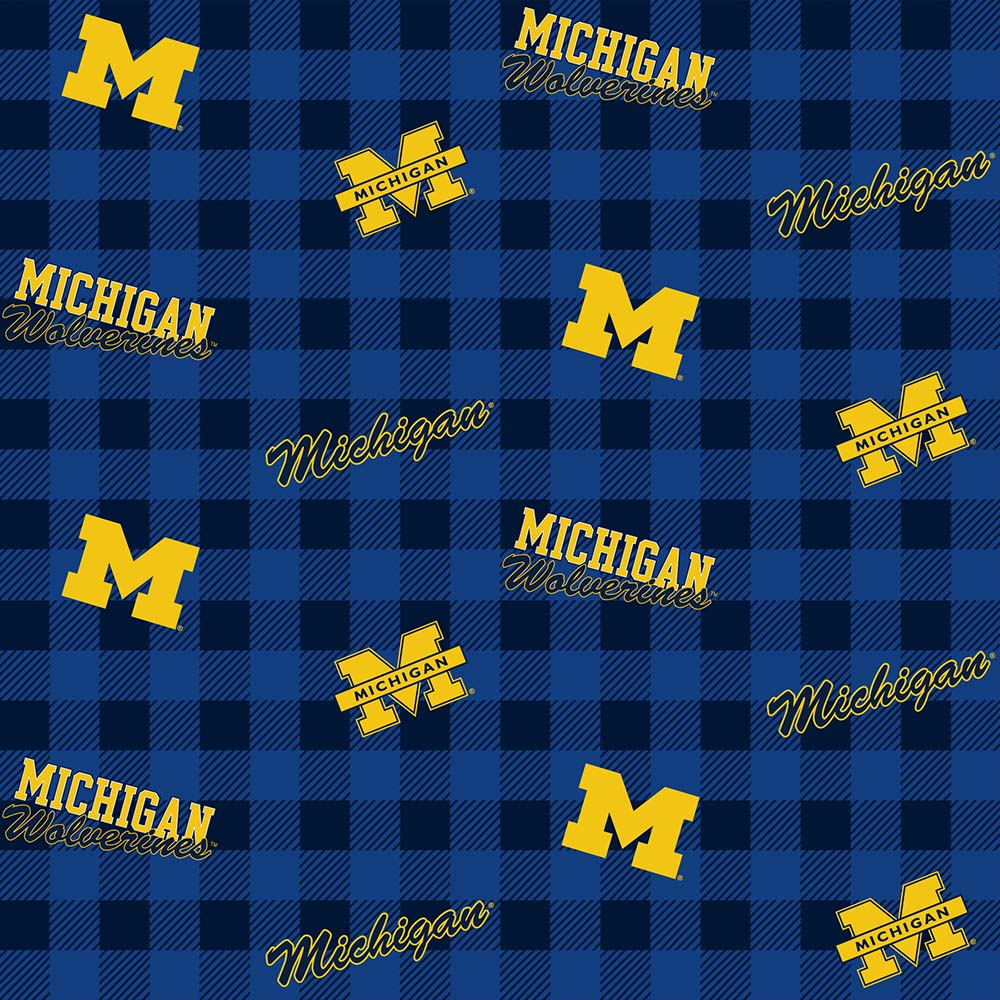UNIV. OF MICHIGAN-1192 Flannel