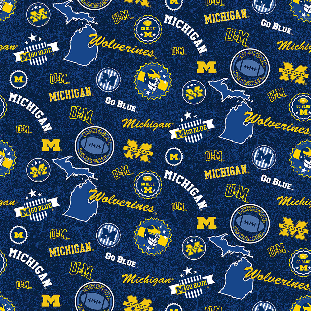 UNIV. OF MICHIGAN-1208 Cotton