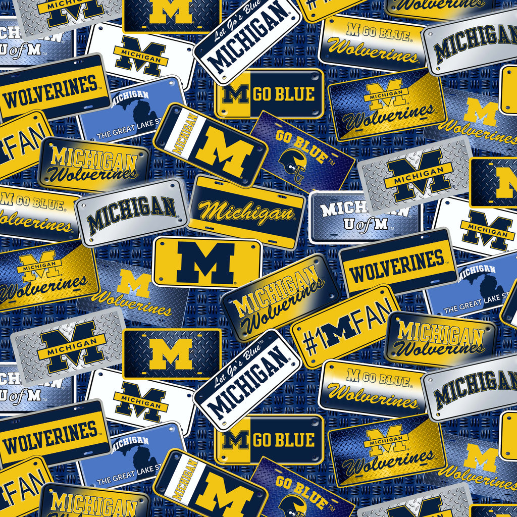 UNIV. OF MICHIGAN-1210 Cotton