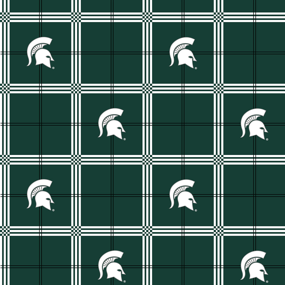 MICHIGAN STATE UNIVERSITY-023 Flannel