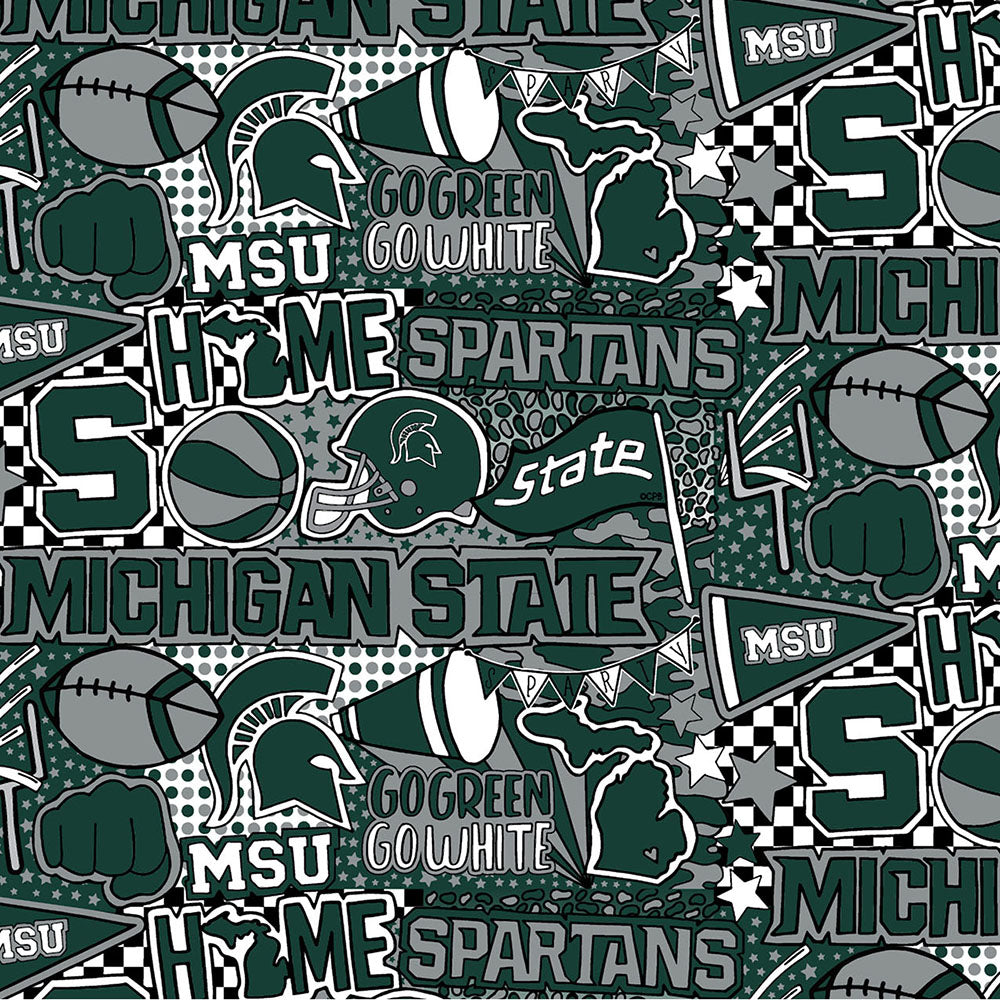 MICHIGAN STATE UNIVERSITY-1165 Cotton / ARTWORK BY COREY PAIGE