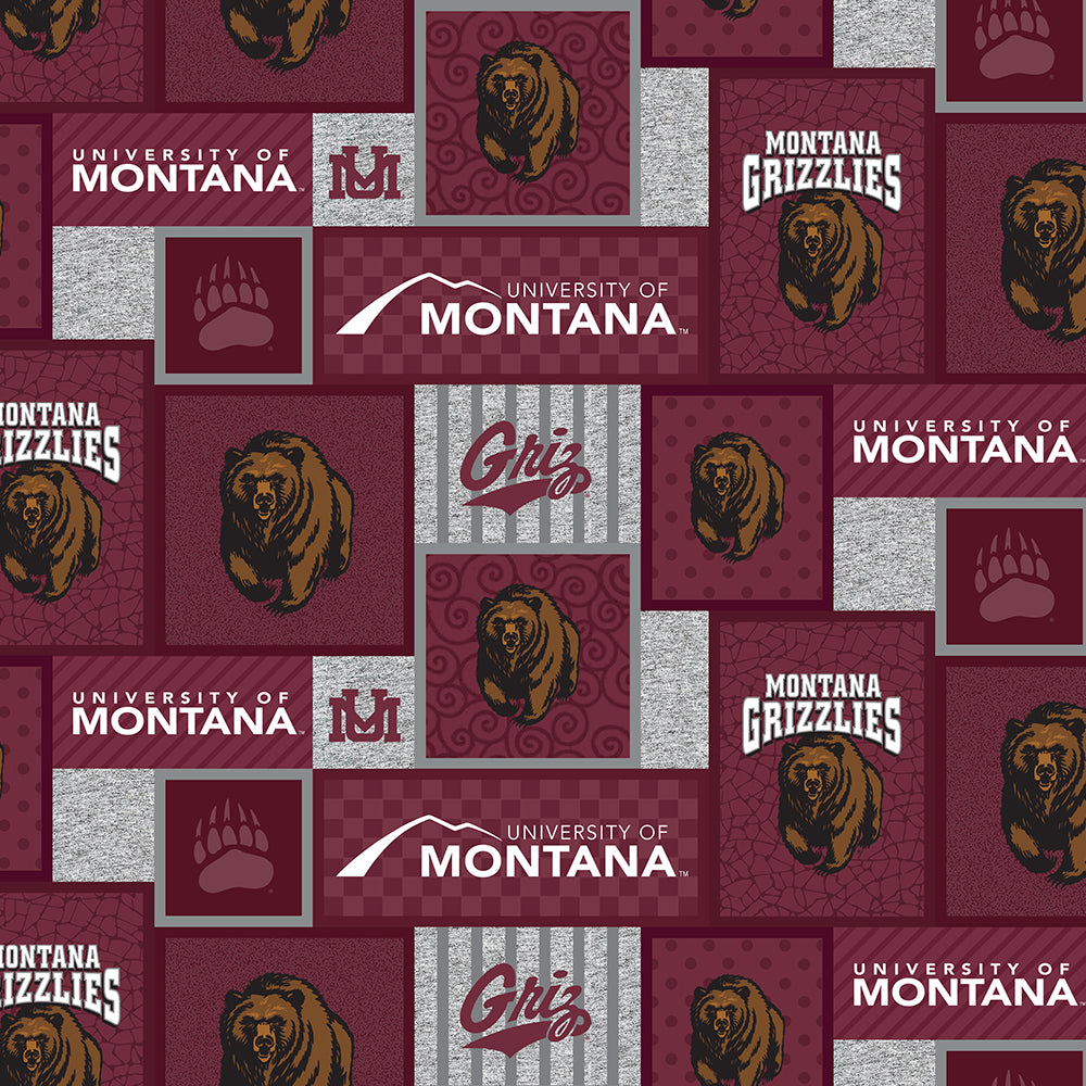UNIV. OF MONTANA-1177 Fleece