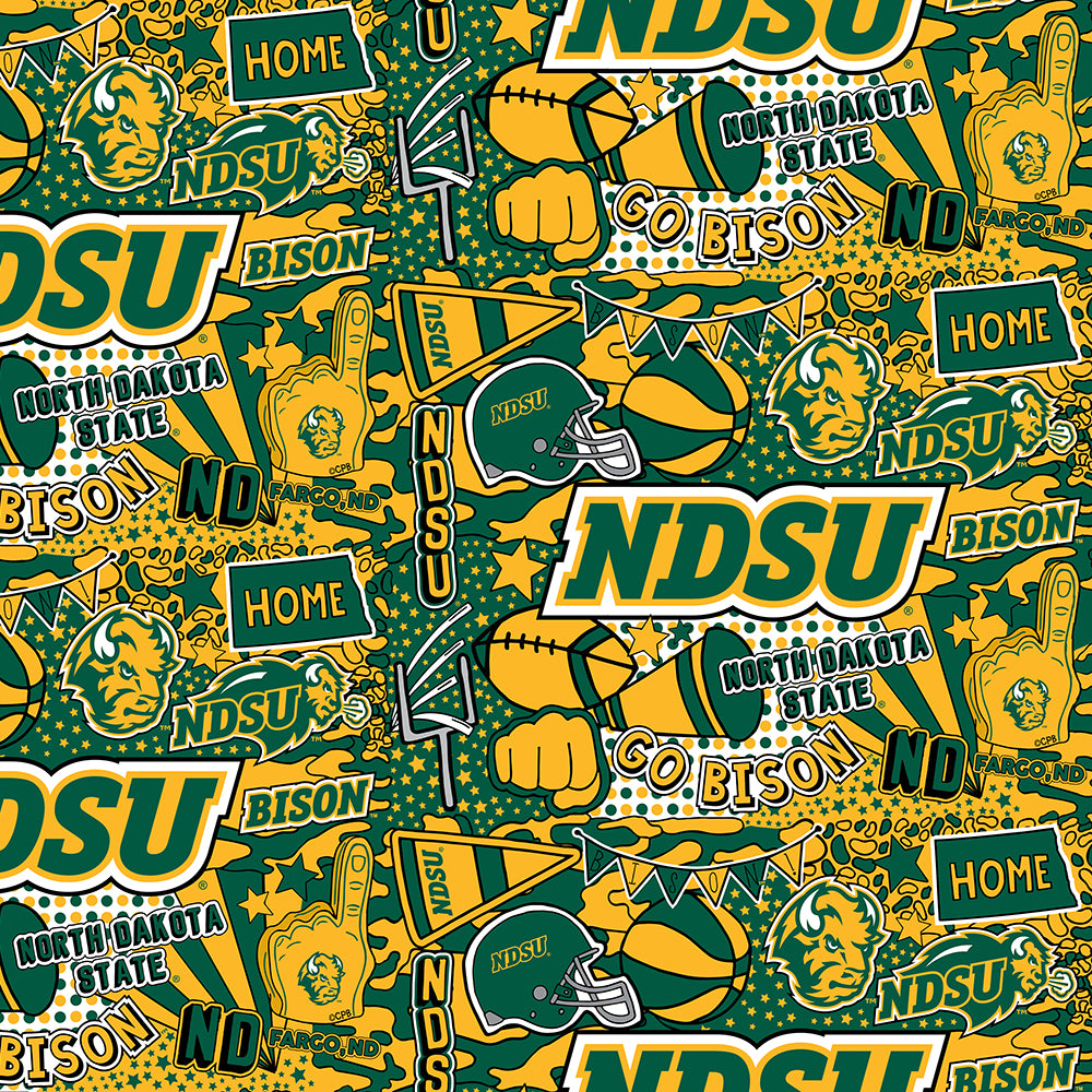 NORTH DAKOTA STATE UNIVERSITY-1165 Cotton / ARTWORK BY COREY PAIGE