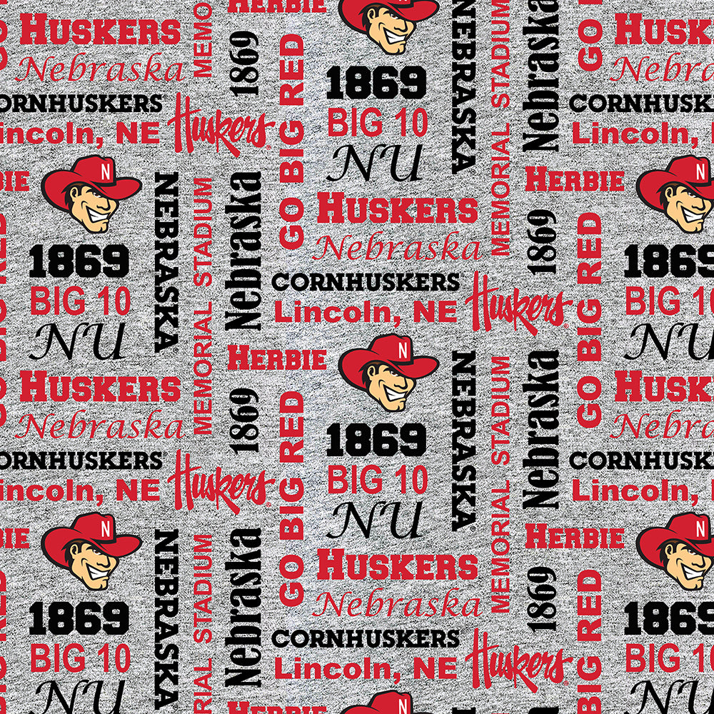 UNIV. OF NEBRASKA-1162 Fleece