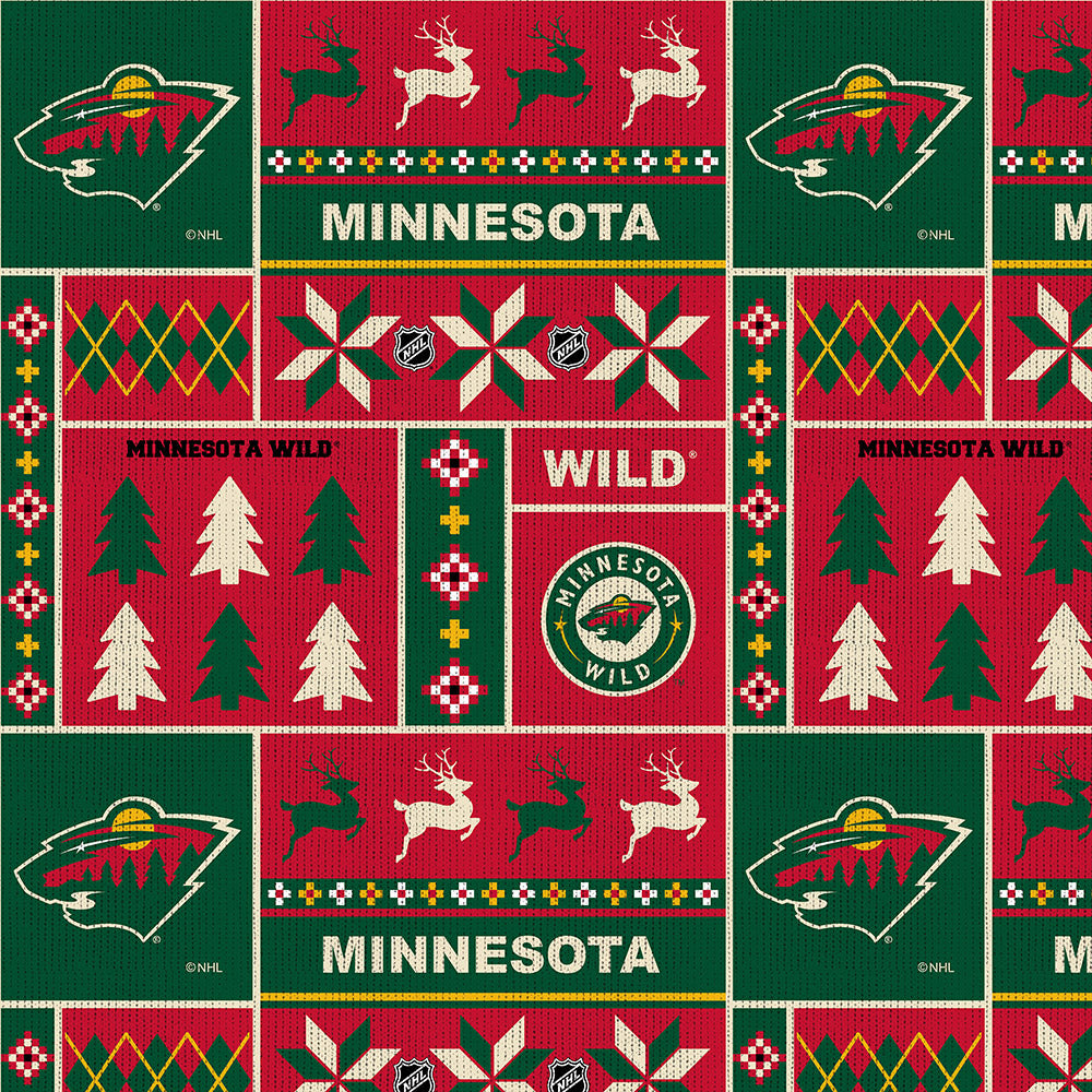 MINNESOTA WILD-1182 Fleece