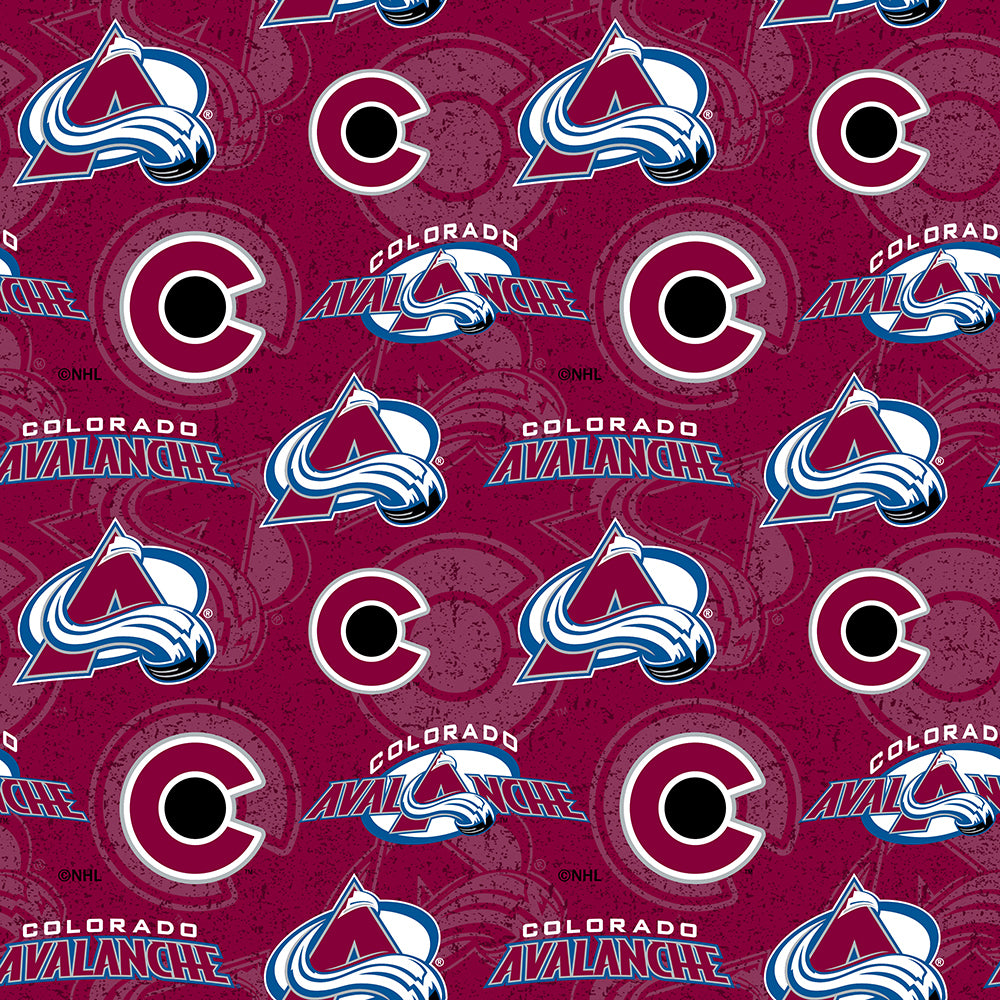 COLORADO AVALANCHE-1199 Cotton
