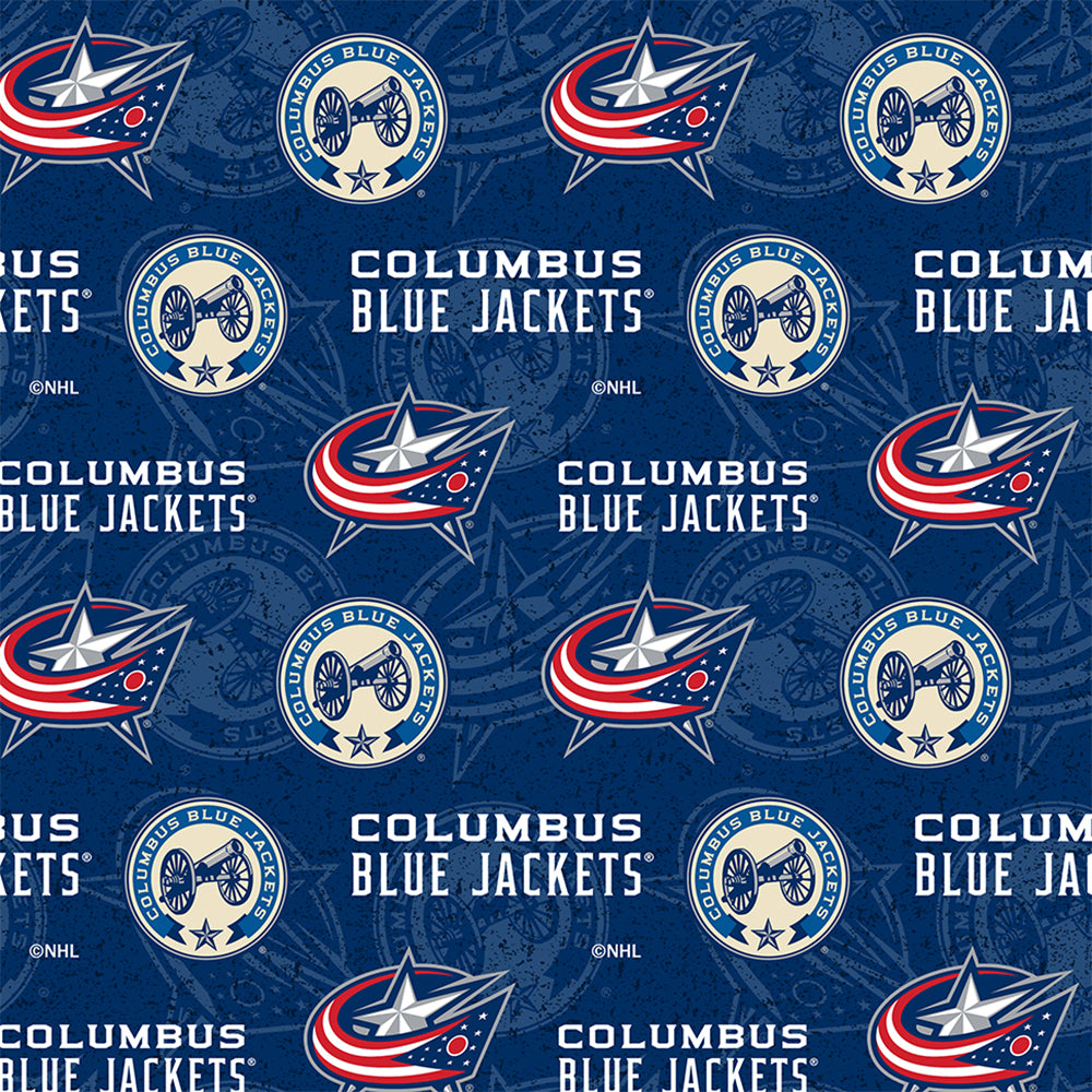 COLUMBUS BLUE JACKETS-1199 Cotton