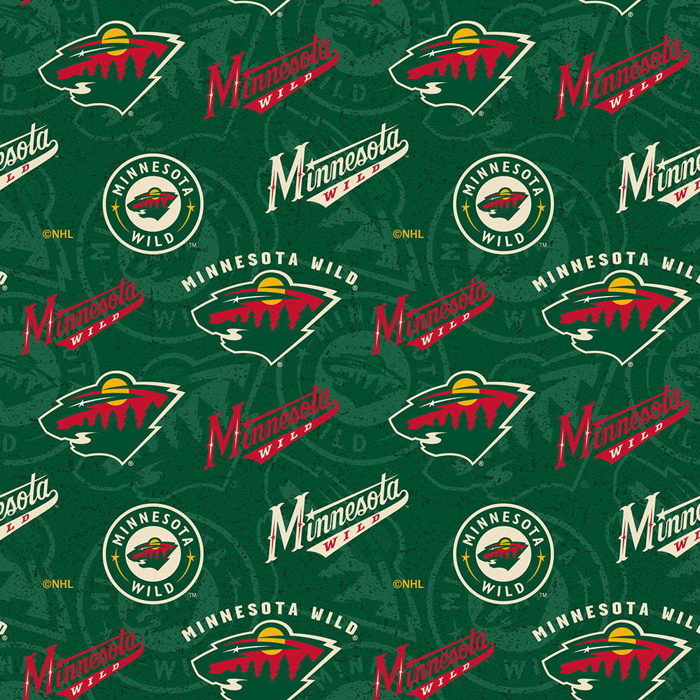 MINNESOTA WILD-1199 Cotton