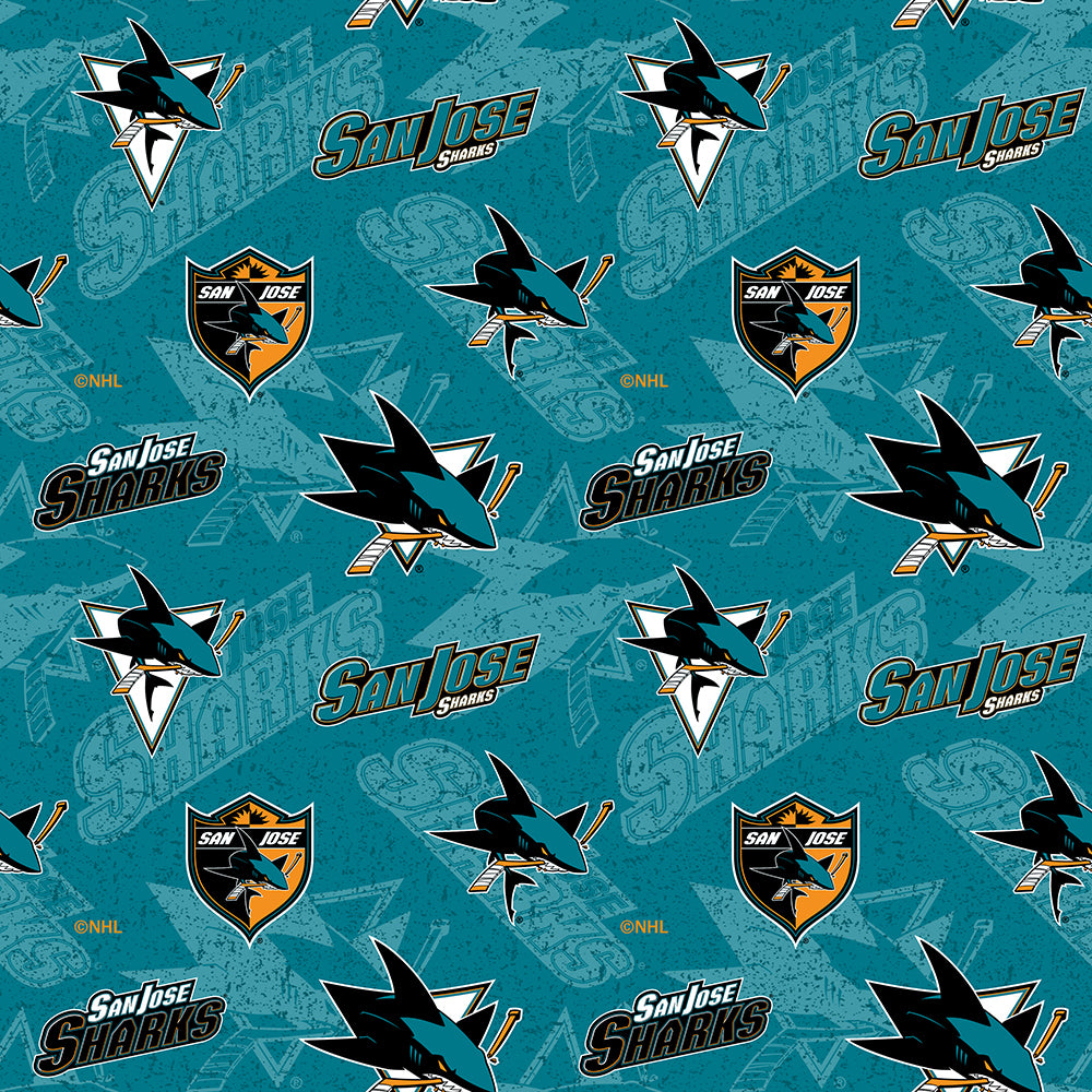 SAN JOSE SHARKS-1199 Cotton