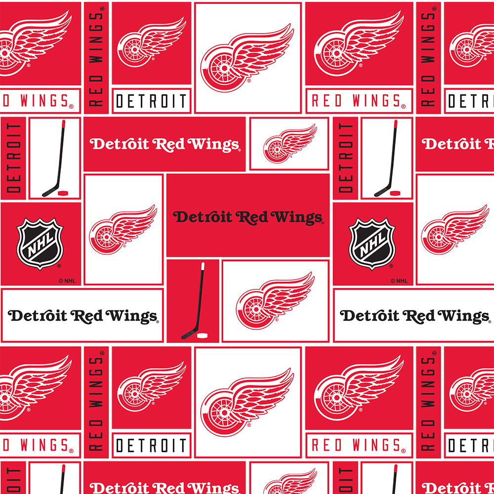DETROIT RED WINGS-840 Cotton
