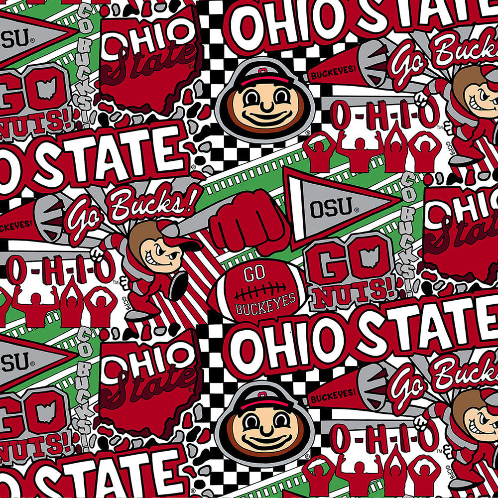 OHIO STATE UNIVERSITY-1165 Cotton / ARTWORK BY COREY PAIGE