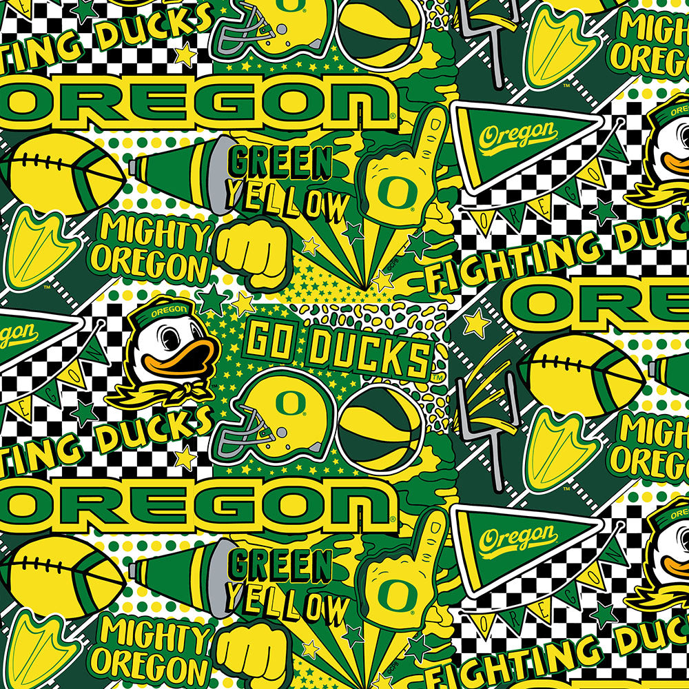 UNIV. OF OREGON-1165 Cotton / ARTWORK BY COREY PAIGE