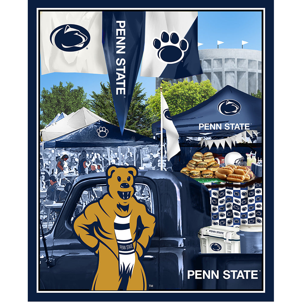 PENN STATE UNIVERSITY-1157 Tailgate Cotton Panel