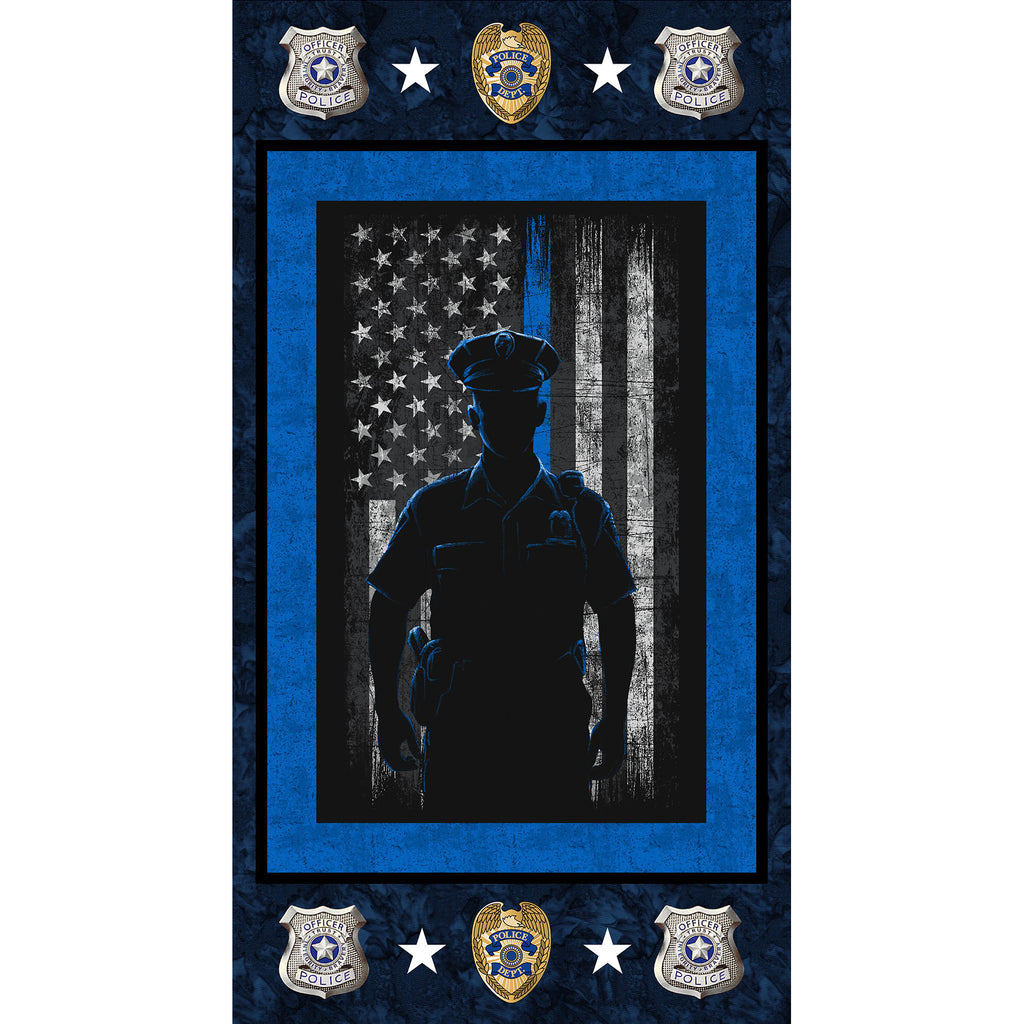 MILITARY POLICE DEPARTMENT COTTON PANEL
