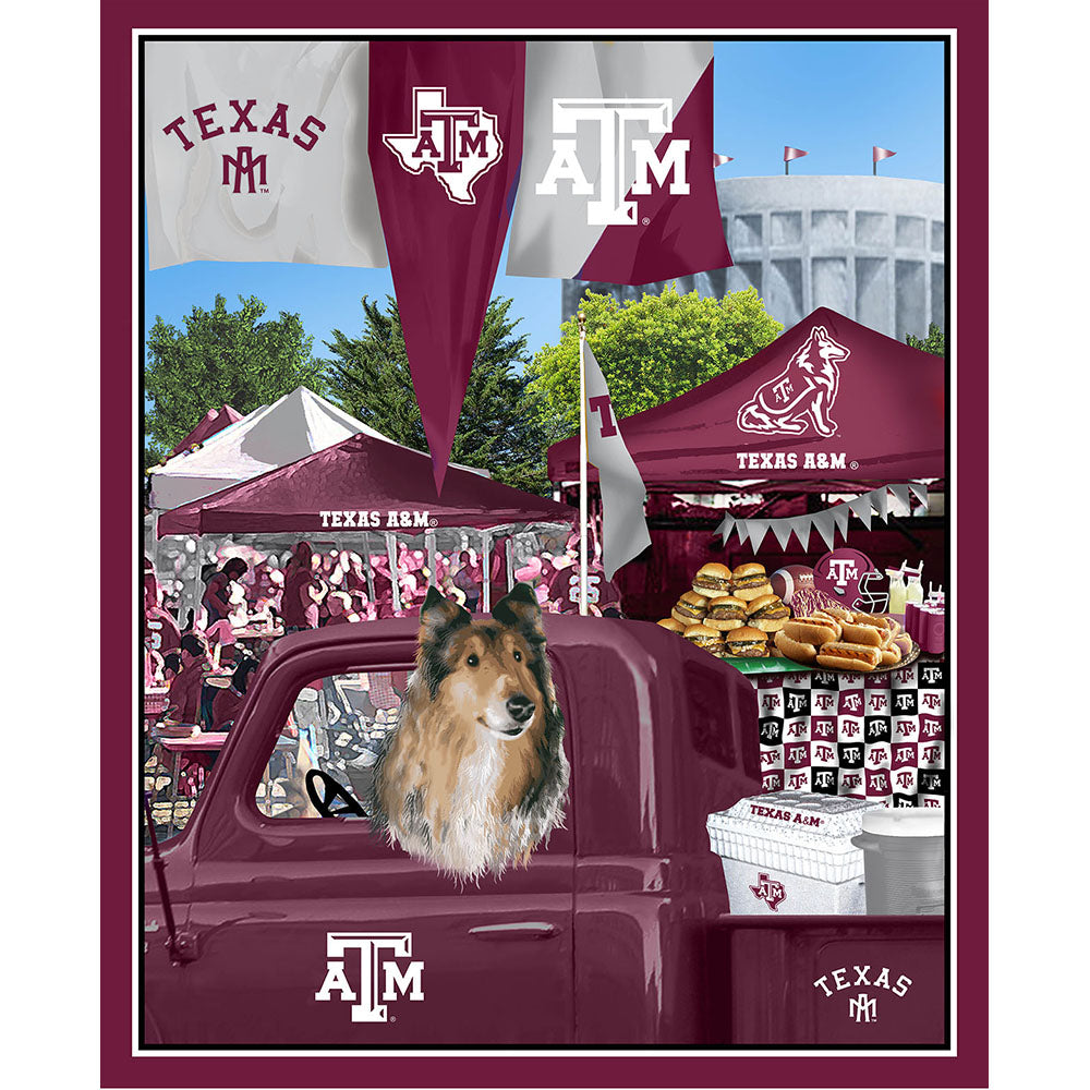 TEXAS A&M UNIVERSITY-1157 Tailgate Cotton Panel