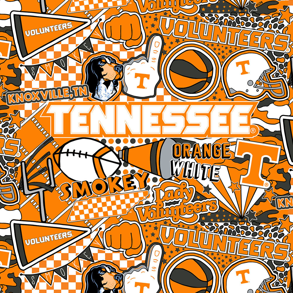 UNIV. OF TENNESSEE-1165 Cotton / ARTWORK BY COREY PAIGE