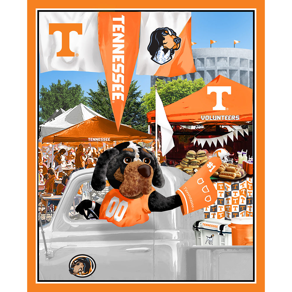 UNIV. OF TENNESSEE-1157 Tailgate Cotton Panel