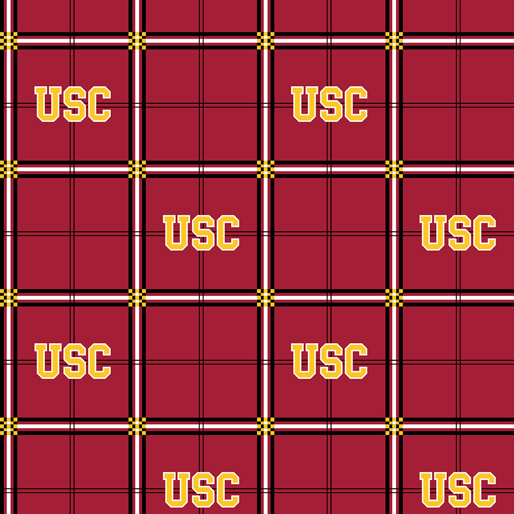 UNIV. OF SOUTHERN CALIFORNIA-023 Flannel