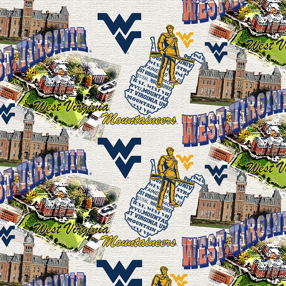 WEST VIRGINIA UNIVERSITY-1212 Cotton