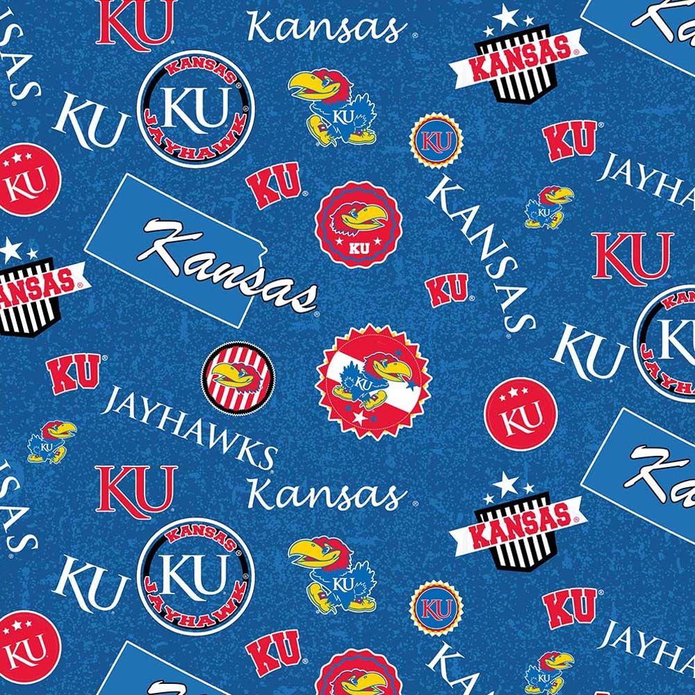 UNIV. OF KANSAS-1208 Cotton