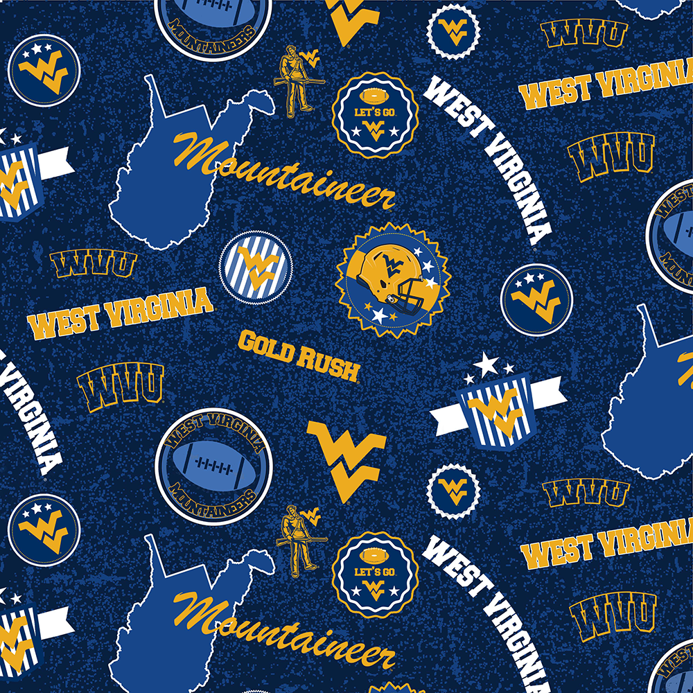 WEST VIRGINIA UNIVERSITY-1208 Cotton