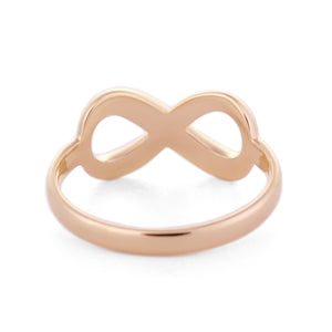 Infinity Ring in 18K Gold