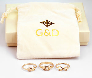 Infinity ring collection, infinity promise ring, infinity love ring