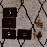 Numbers and Simple Math Flash Cards