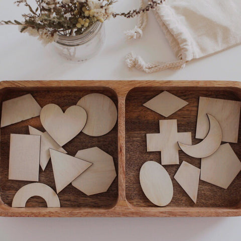 Wooden Shape Pieces