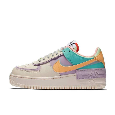 air force 1 shadow pink and green