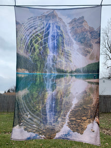 External Fountain Tapestry