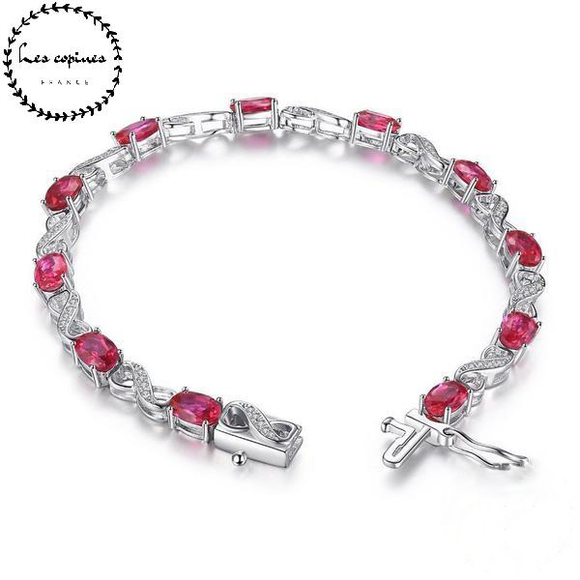 Collier sertie de Ruby