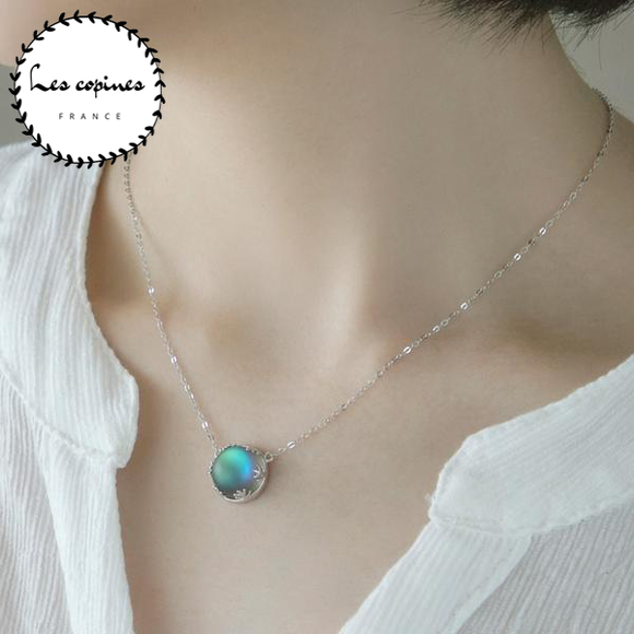 Collier Halo Cristal