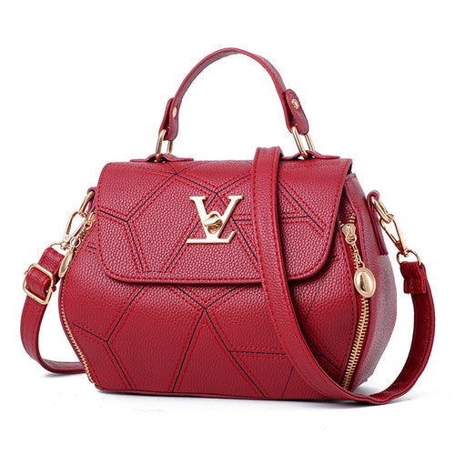 e89a365618 2018 Femme Bolsas Women'sTote Purse Brand Womens Bag Luxury Leathe Handbags  Shell thread Ladies