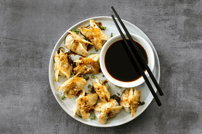 Dumplings with Maple-Ginger Nagano Pork