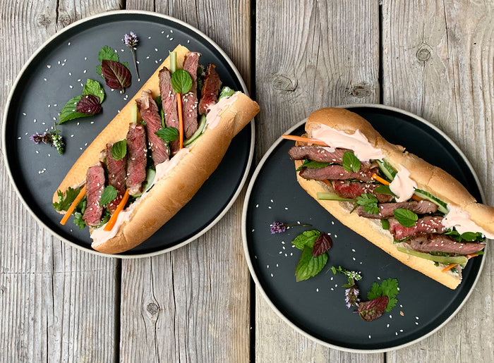 Ribeye Steak Banh Mi