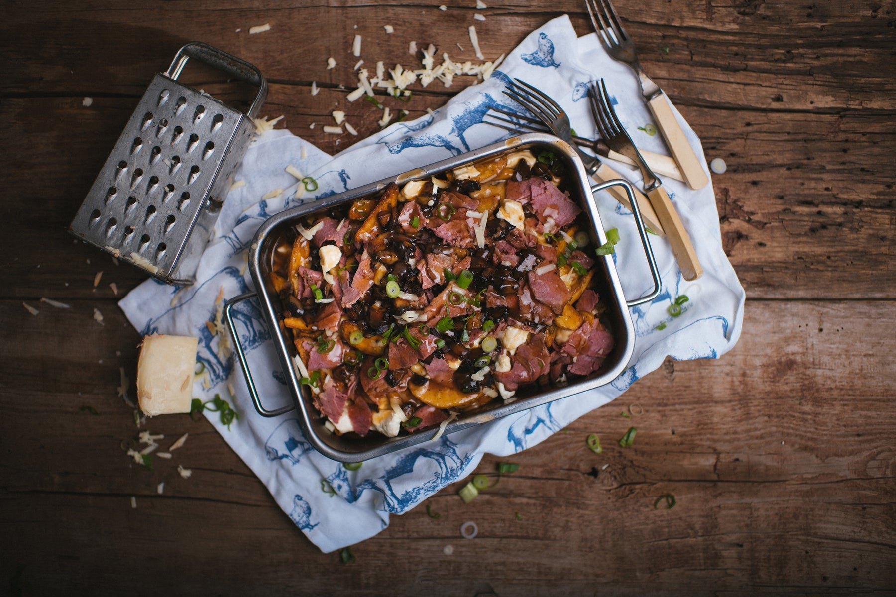 smoked meat poutine