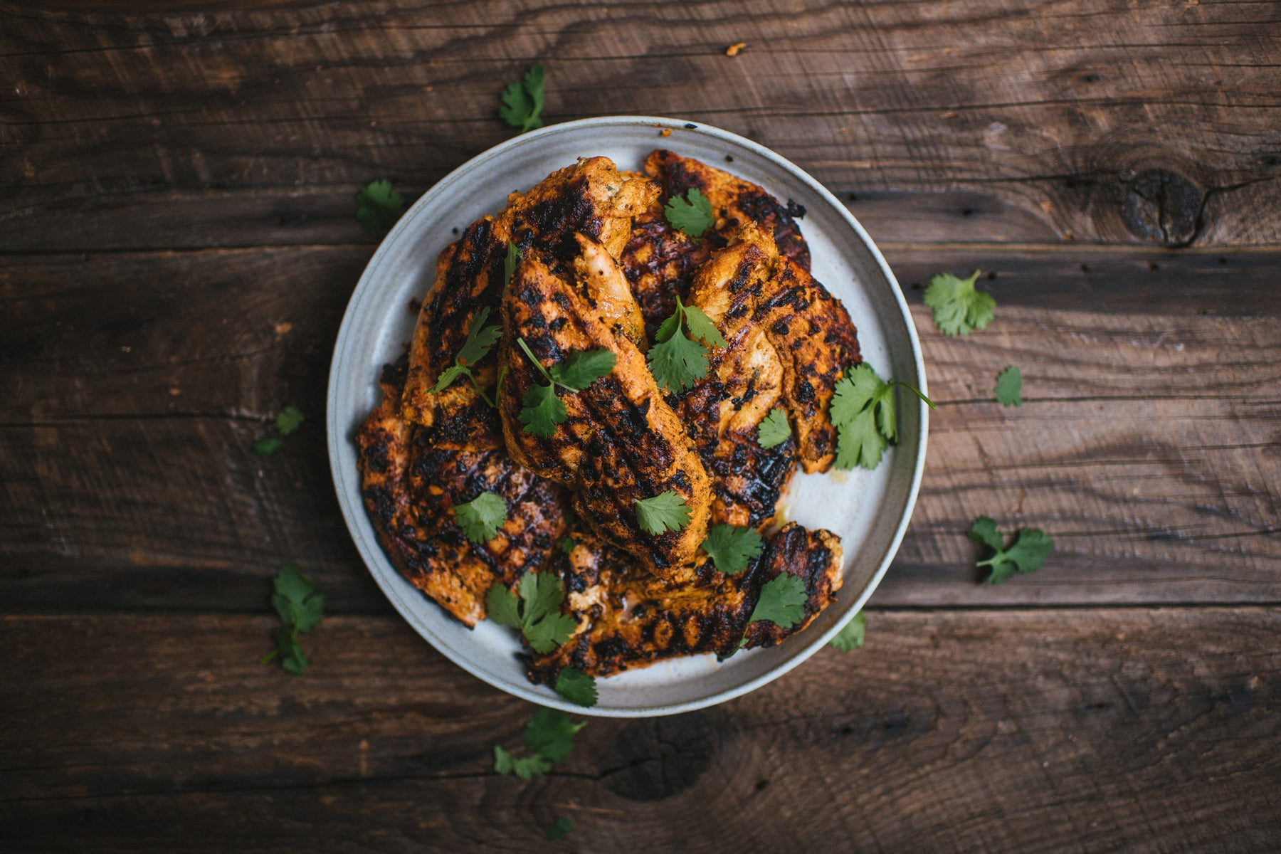 Grilled Tandoori Chicken Breasts