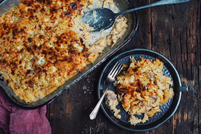 Pulled Pork Mac and Cheese Trio