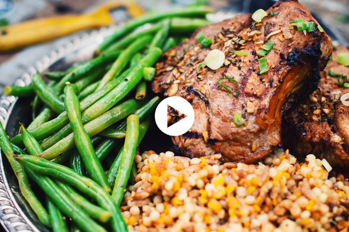 Veal Chops with Lime and Corona Beer (VIDEO)