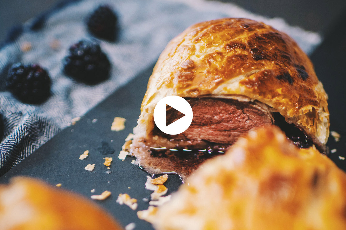 Wellington Duck with Blackberry Jam (VIDEO)