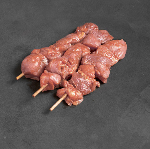 Natural Pork Tenderloin Skewers