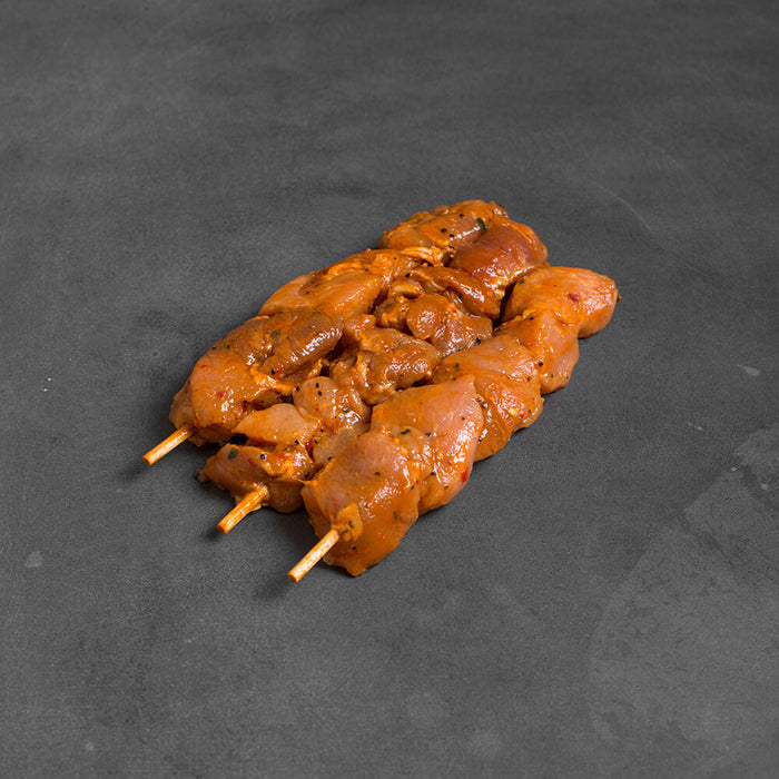 Pork Skewers BBQ Marinated