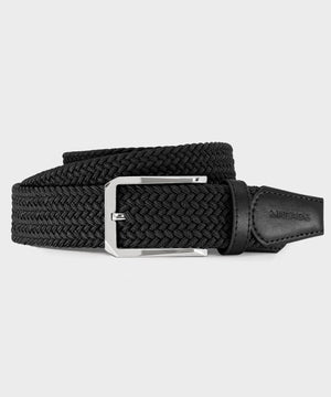 Men's Elastic Black Belt