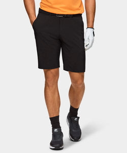 Black Four-Way Stretch Shorts
